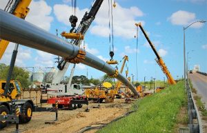 First Ever Direct Pipe® Crossing of a USACE Levee Wins ACEC Grand Award
